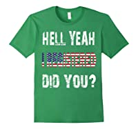 Registration Day Register To Vote Us Election Gift T Shirt Forest Green