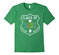2019 Class Of 2032 Grow With Graduation First Day Of School Shirts Forest Green