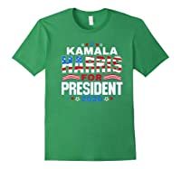 Kamala Harris For President 2020 Patriotic Election Gift Shirts Forest Green