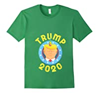 Funny Unicrontrump 2020 Election Usa Flag Republican Gift T Shirt Forest Green