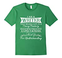 I M A Writer Gift For Authors Novelists Literature Shirt Forest Green