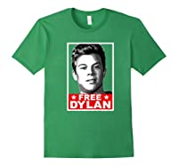 American Vandal Free Dylan Political Poster Premium T-shirt Forest Green