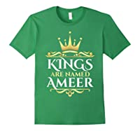 Kings Are Named Ameer T-shirt Forest Green