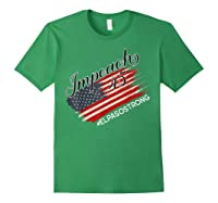 El Paso Strong Impeach Trump 45 Anti President American Map Shirts Forest Green