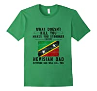 Saint Kitts Nevis Dad Gifts For Fathers Day Tank Top Shirts Forest Green