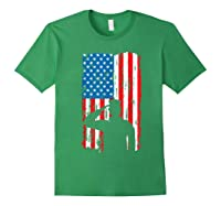 Veteran S Day Patriotic Usa Flag We Salute You Veterans T Shirt Forest Green