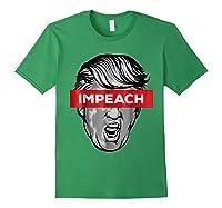 Trump Impeach Not My President T Shirt Forest Green