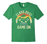 Kindergarten 2019 Class Of 2032 Game On Gamer, Grow With Me Shirts Forest Green