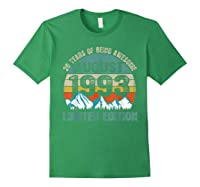 Born August 26 Limited Edition Bday Gift 26th Birthday Shirts Forest Green