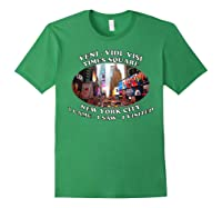 Times Square New York City Visit Shirts Forest Green