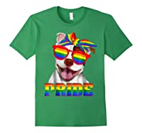 Pit Bull Pride- Gay Pride Shirt 2018 T-shirt For Forest Green