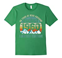 Born August 59 Limited Edition Bday Gift 59th Birthday Shirts Forest Green