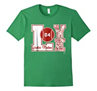 Yadier Molina Love Block T-shirt - Apparel Forest Green