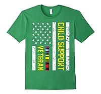 Child Support Veteran Tshirt Veteran Day Gift T Shirt Forest Green