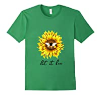 Let It Bee Sunflower Gift For Shirts Forest Green