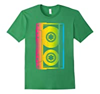 Cassette Tape 80s 90s Vintage Retro Funny Halloween Shirts Forest Green