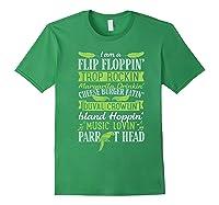 Parrot Shirt - Parrot Head Tshirts Forest Green