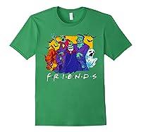 Friends Halloween Horror T Shirt Forest Green