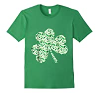 Shamrock T Shirt Saint Patricks Day Forest Green