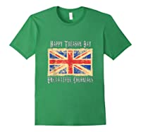 Happy Treason Day Ungrateful Colonials 4th Of July Shirts Forest Green