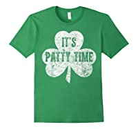 It S Patty Time T Shirt Saint Patrick Day Gift Shirt Forest Green