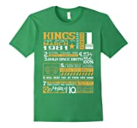 39th Birthday Gift Kings Born In March 1981 39 Years Old Shirts Forest Green