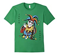 Joker Playing Card Halloween Costume Wild Card Shirts Forest Green
