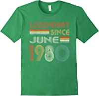 Legendary Since June 1980 41st Birthday 41 Years Old T-shirt Forest Green