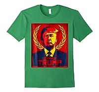 Comrade Trump Protest Resist Impeach Russia Propaganda Shirt Forest Green