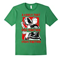 Black Widow Family That Spies Together Stays Together Shirts Forest Green