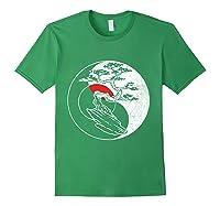 Spirit Soul Yin Yang Bonsai Tree Meditation Shirts Forest Green