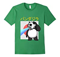 Japanese Vintage Panda Bear Retro Halloween Costume Shirts Forest Green