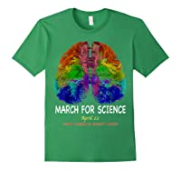 Cool Brain Science March Earth Day 2018 T Shirt Forest Green