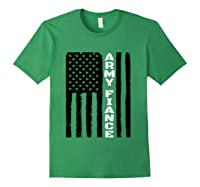 Proud Army Fiance Military Fiance Veteran S Day Gift Idea T Shirt Forest Green