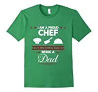 Chef Cooking Funny Culinary Chefs Dad Father S Day Gifts T Shirt Forest Green