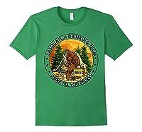 Sasquatch Drinking Team Drink Till You Believe Tshirt Forest Green