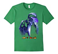 S Darth Vader Shadow Silhouette Shirts Forest Green