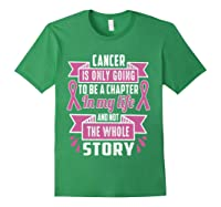Breast Cancer Awareness Month Pink Ribbon Warrior T T Shirt Forest Green