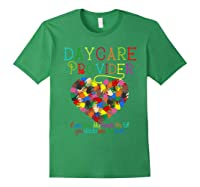 Daycare Provider Tshirt Appreciation Gift Childcare Tea Forest Green