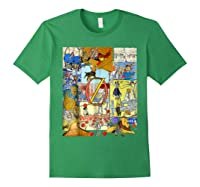 Wizard Of Oz Montage Shirts Forest Green