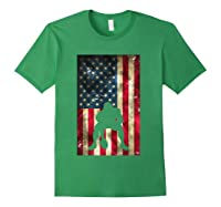 Flag Football Pittsburgh Lineman Gift Shirts Forest Green