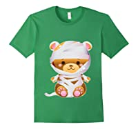 Mummy Bear Halloween Out Costume Party Gifts Pullover Shirts Forest Green