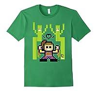 8 Bit Bayley Shirts Forest Green