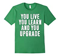 You Upgrade Divorcebreak Up Quote Party Gift Shirts Forest Green