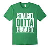 Straight Outta Pa City Shirt Forest Green