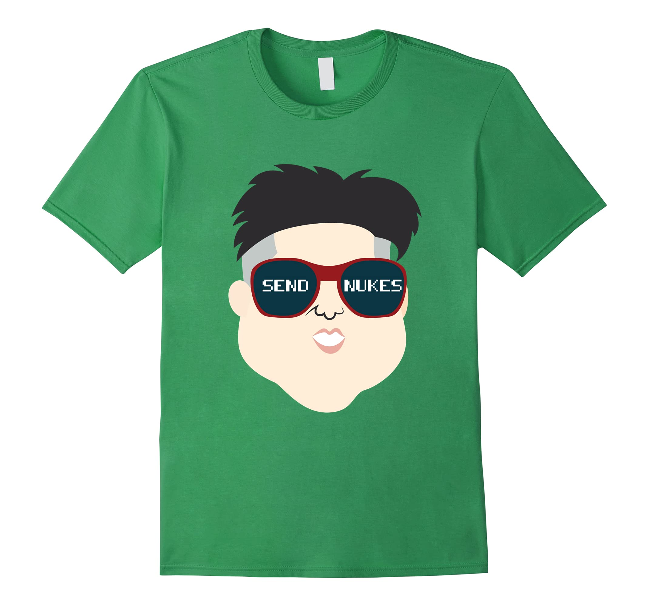 Funny Send Nukes T-shirt North Korea Nuclear Saying Quote