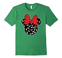 Disney Minnie Lights Up T Shirt Forest Green