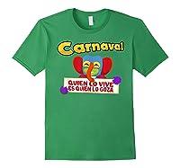 Carnaval De Barranquilla Marimonda T Shirt Forest Green