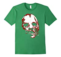 American Horror Story Asylum Bloody Face Shirts Forest Green