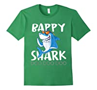 Bappy Shark, Fathers Day Gift From Wife Son Daughter Shirts Forest Green